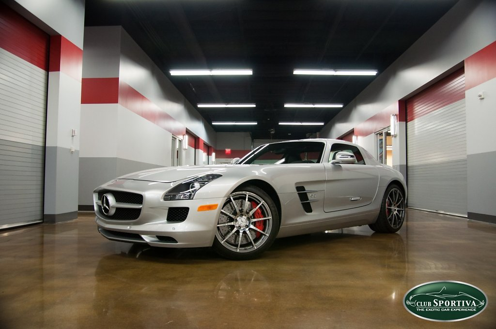 Mercedes-Benz SLS AMG - Retired