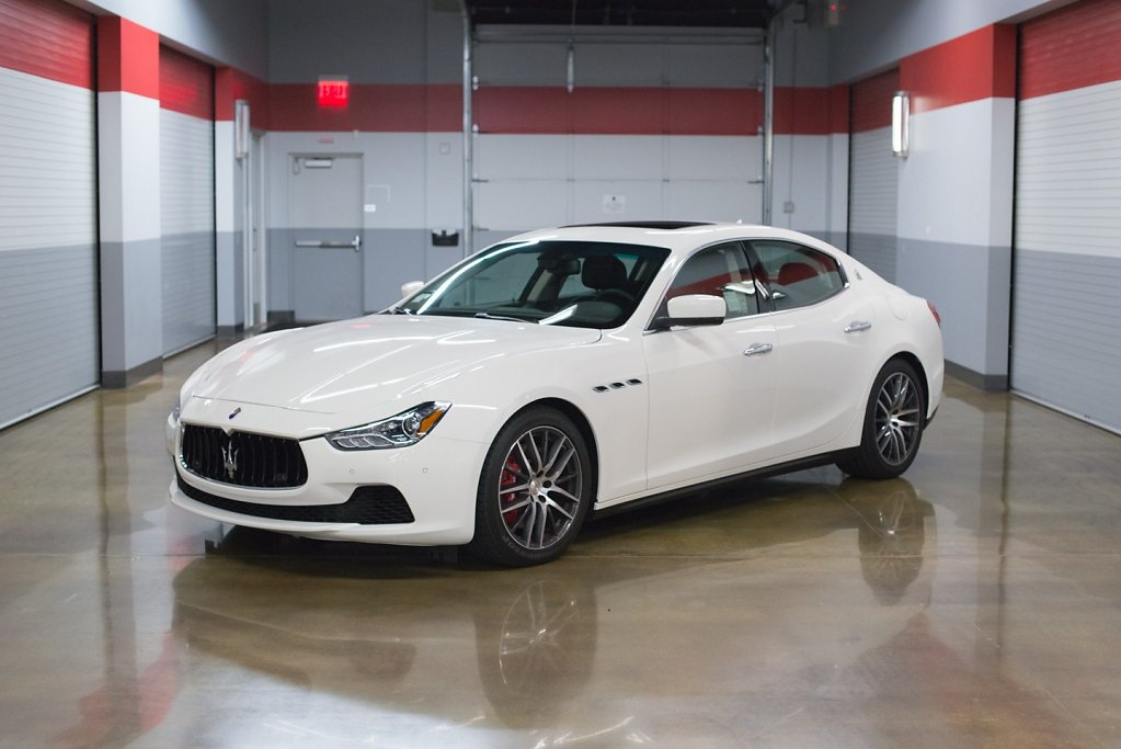Maserati Ghibli - Retired