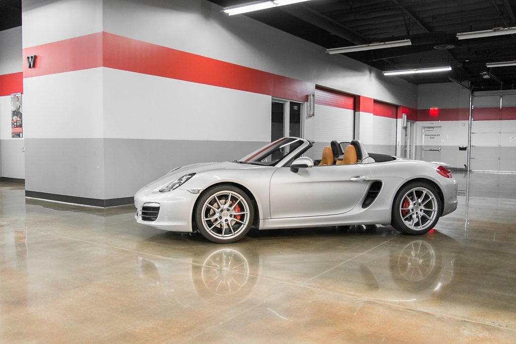Porsche Boxster S Silver - 6 speed manual