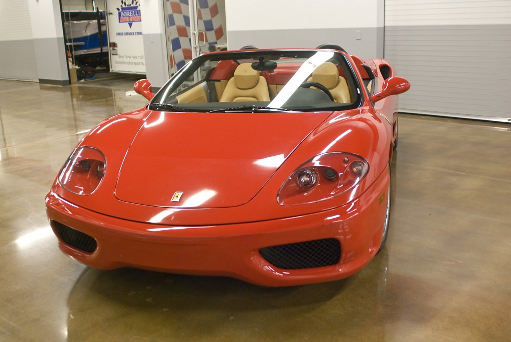 Ferrari 360 Spyder - Retired