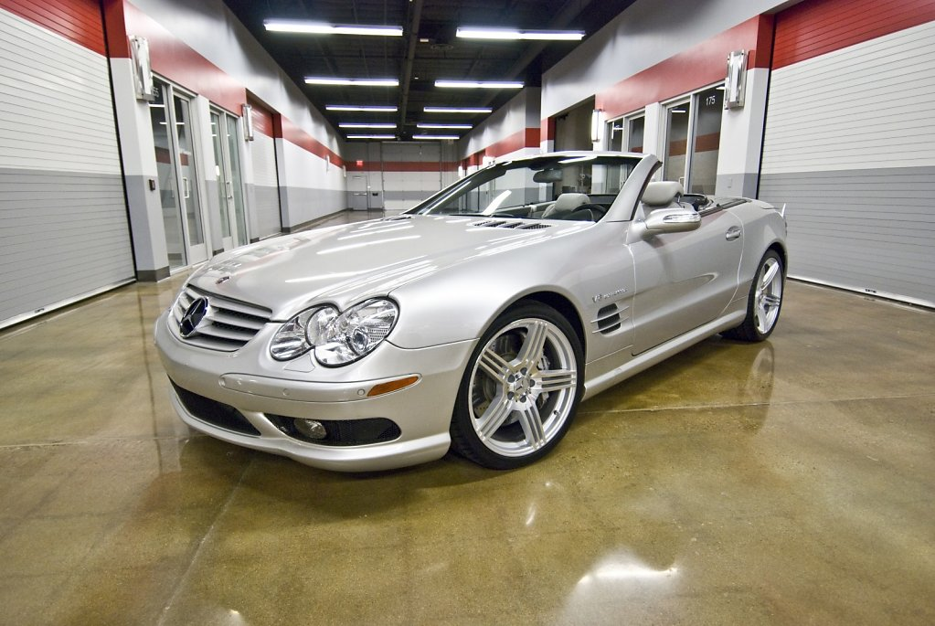 Mercedes-Benz SL55 AMG Convertible - Retired