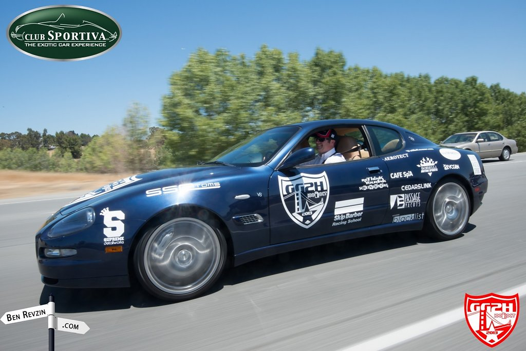 Golden Gate to Hollywood Rally 2013