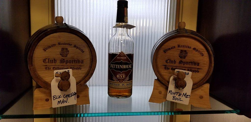 Barrel Aged Cocktails Event